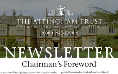Attingham Newsletter 2008