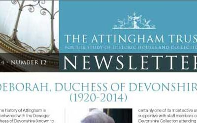 Attingham Newsletter 2014