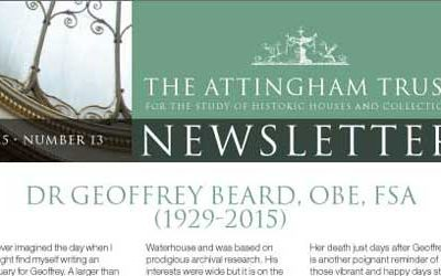 Attingham Newsletter 2015