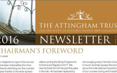 Attingham Newsletter 2016