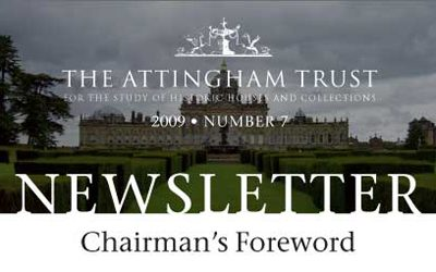 Attingham Newsletter 2009